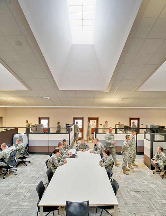 Project: Camp Withycombe    Armed Forces Reserve Center, 41st Infantry Division<br /> Architect: BBL Architects<br /> GC: Hoffman Construction Co.<br /> Location: Clackamas, OR<br />