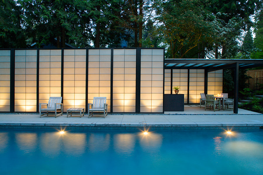 Project: Kaneko Pool <br /> Architect: Lane Williams Architects<br /> GC: Courter Construction<br /> Location: Medina, WA<br />