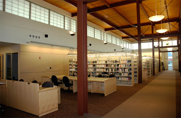 Project: La Grande Library<br /> Architect: OTAK<br /> GC: Sletten Construction<br /> Location: La Grande, OR<br />