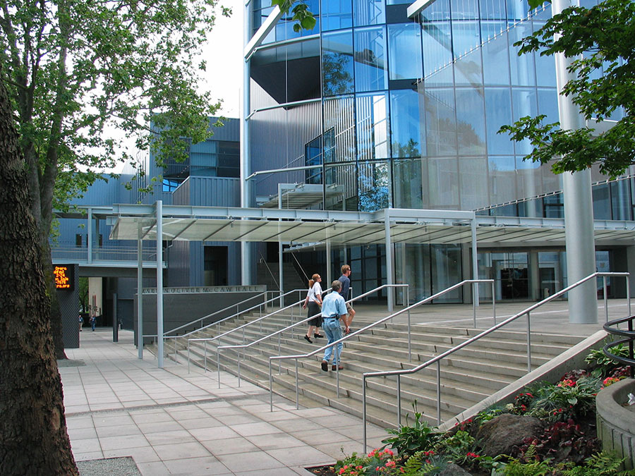 Project: Marion Oliver McCall Hall <br /> Architect: LMN Architects<br /> Location: Seattle, WA<br />
