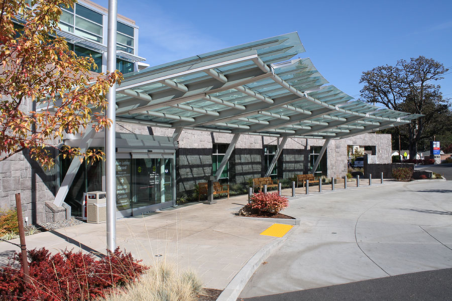 Project: Providence Hood River <br /> Architect: Clark/Kjos Architects<br /> GC: Andersen Construction Co<br /> Location: Hood River, OR<br />