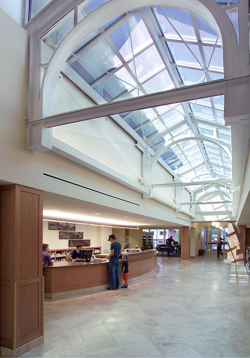 Project: Camas Library<br /> Architect: Fletcher Farr Ayotte Architects<br /> GC: DPR Construction<br /> Location: Camas, WA<br />