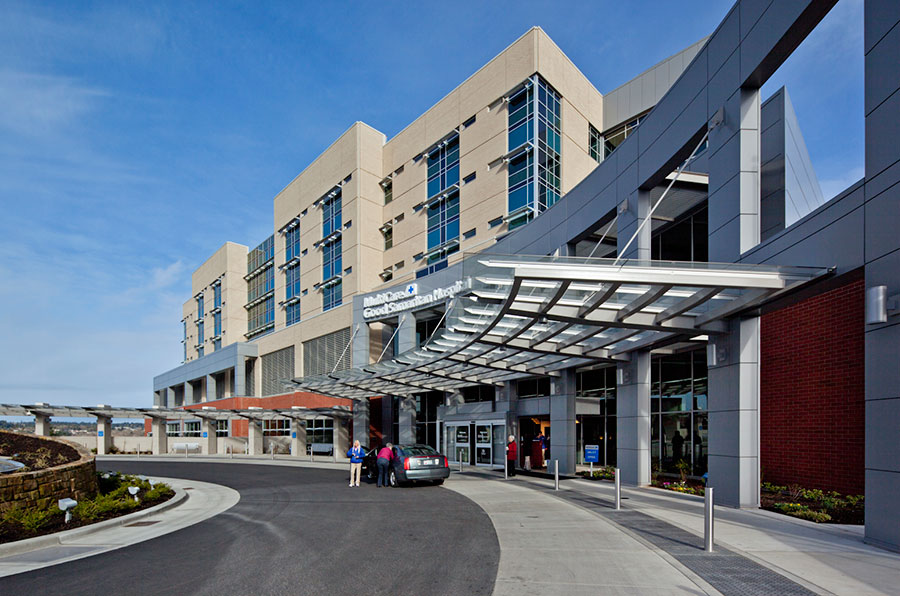 Project: Good Samaritan Hospital<br /> Architect: Clark/Kjos Architects<br /> GC: Skanska USA<br /> Location: Puyallup, WA<br />