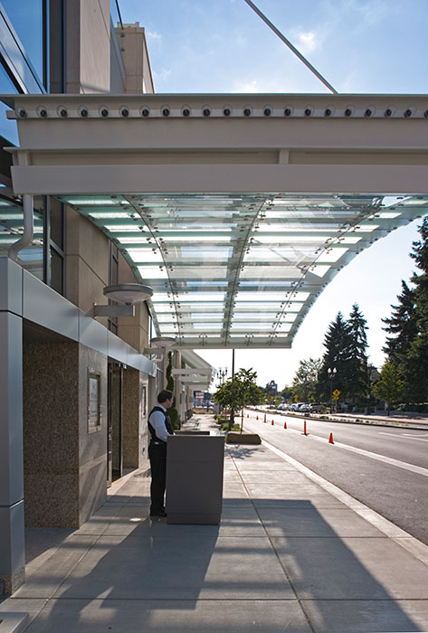 Project: Hilton Hotel<br /> Architect: Fletcher Farr Ayotte<br /> GC: Faulkner USA<br /> Location: Vancouver, WA<br />
