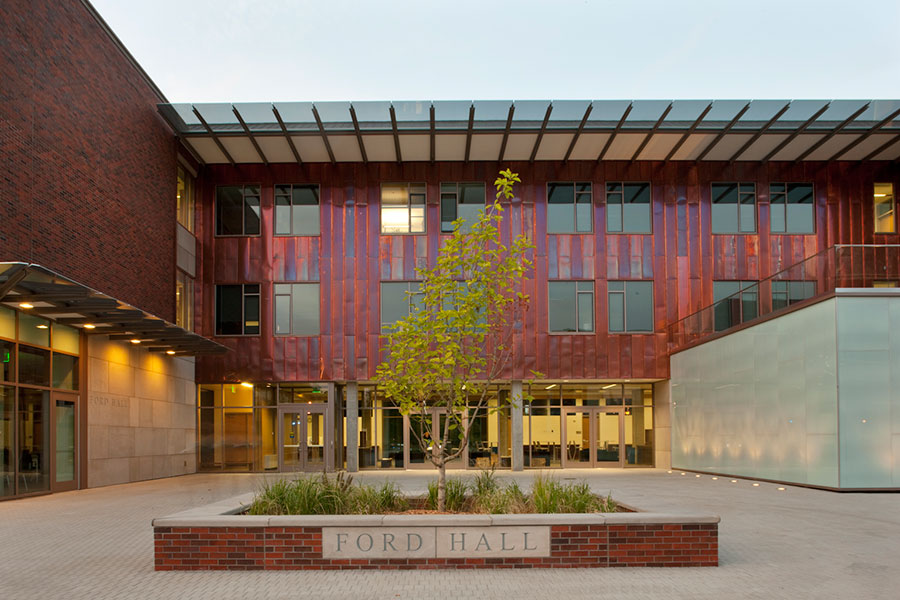 Project: Willamette University Ford Hall<br /> Architect: Hennebery Eddy Architects<br /> GC: Hoffman Construction Co<br /> Location: Salem, OR<br />