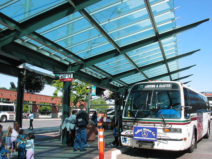 Project: Courthouse Square Transit Center<br /> Architect: Arbuckle Costic<br /> GC: Pence Kelly<br /> Location: Salem, OR<br />
