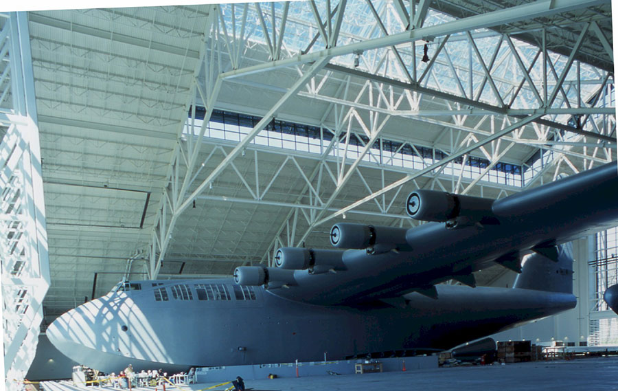 Project: Evergreen Museum of Flight<br /> Architect: Ankrom Moisan Associated Architects<br /> GC: Hoffman Construction Co.<br /> Location: McMinnville, OR<br />