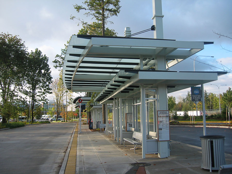 Project: Overlake Transit<br /> Architect: HNTB Corporation<br /> GC: Wilder Construction<br /> Location: Redmond, WA<br />
