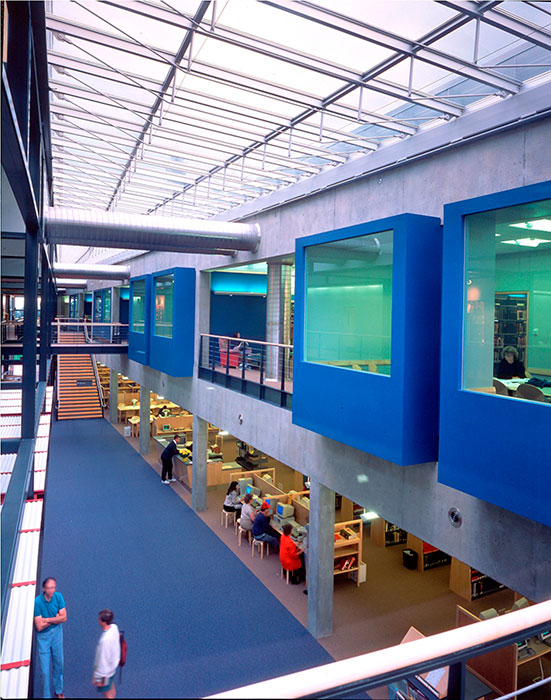 Project: Portland Community College - Learning Resource Center<br /> Architect: BOORA Architects<br /> GC: Koll Construction<br /> Location: Portland<br />