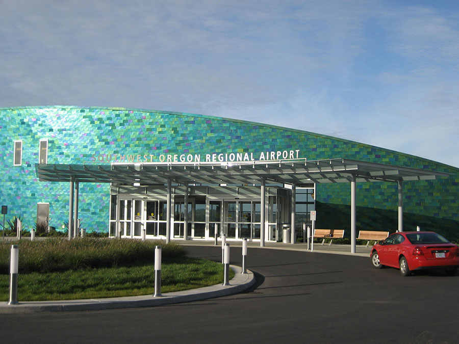 Project: SW Oregon Regional Airport<br /> Architect: Zimmer Gunsul Frasca Partnership<br /> GC: DPR Construction<br /> Location: Hillsboro, OR<br />