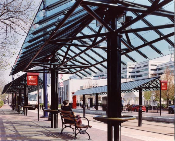Project: Tri-Met MAX Holladay Street Station<br /> Architect: Zimmer Gunsul Frasca<br /> GC: Slayden Construction<br /> Location: Portland, Oregon<br />