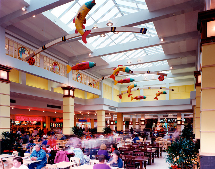 Project: Vancouver Mall Food Court<br /> Architect: D'Agostino Izzo Quirk Architects<br /> GC: Baugh Construction<br /> Location: Vancouver, WA<br />